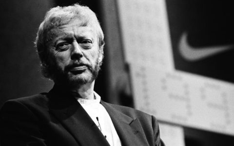 Nike Phil Knight interview Harvard