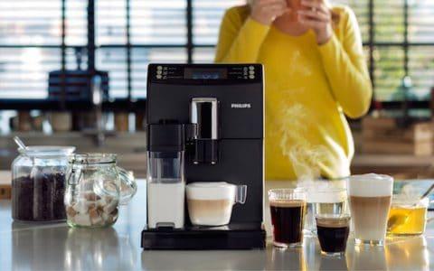 Philips koffiemachines korting Wehkmamp