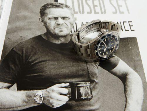 1964 Rolex Submariner 5513 Steve McQueen veiling