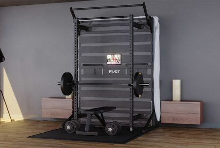 pivot bed thuisgym slaapkamer gym