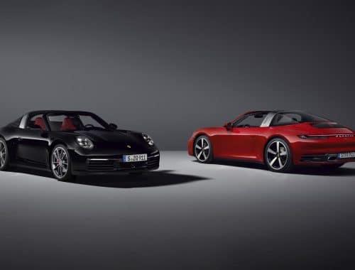 Porsche 911 Targa 4 & Porsche 911 Targa 4S