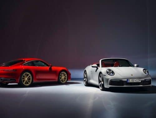 2020 Porsche 911 Carrera Coupé - 2020 Porsche 911 Carrera Cabriolet