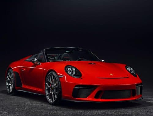 Porsche 911 Speedster Limited Edition
