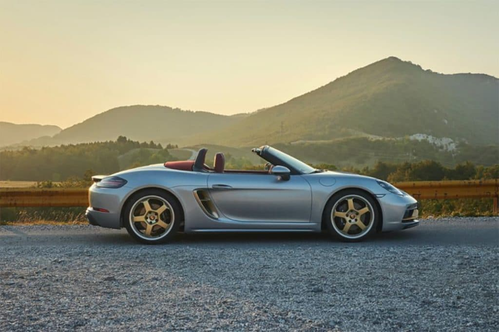 Porsche Boxster 25 Years limited edition jubileummodel