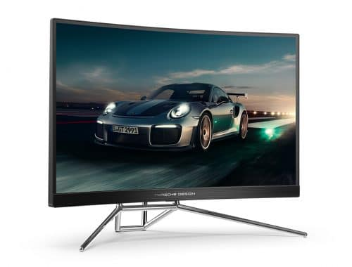 Porsche Design x AOC AGON PD27 gaming monitor