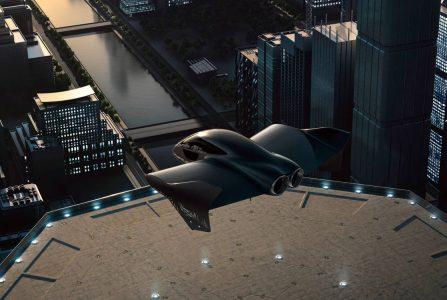 porsche en boeing premium vliegende voertuigen