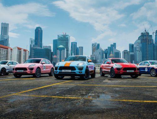 Porsche Macan Le Mans makeover