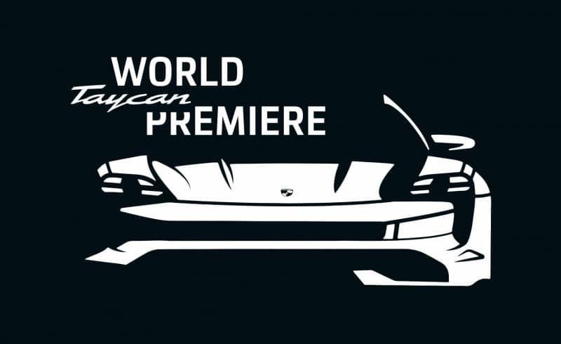 nieuwe Porsche Taycan live stream onthulling