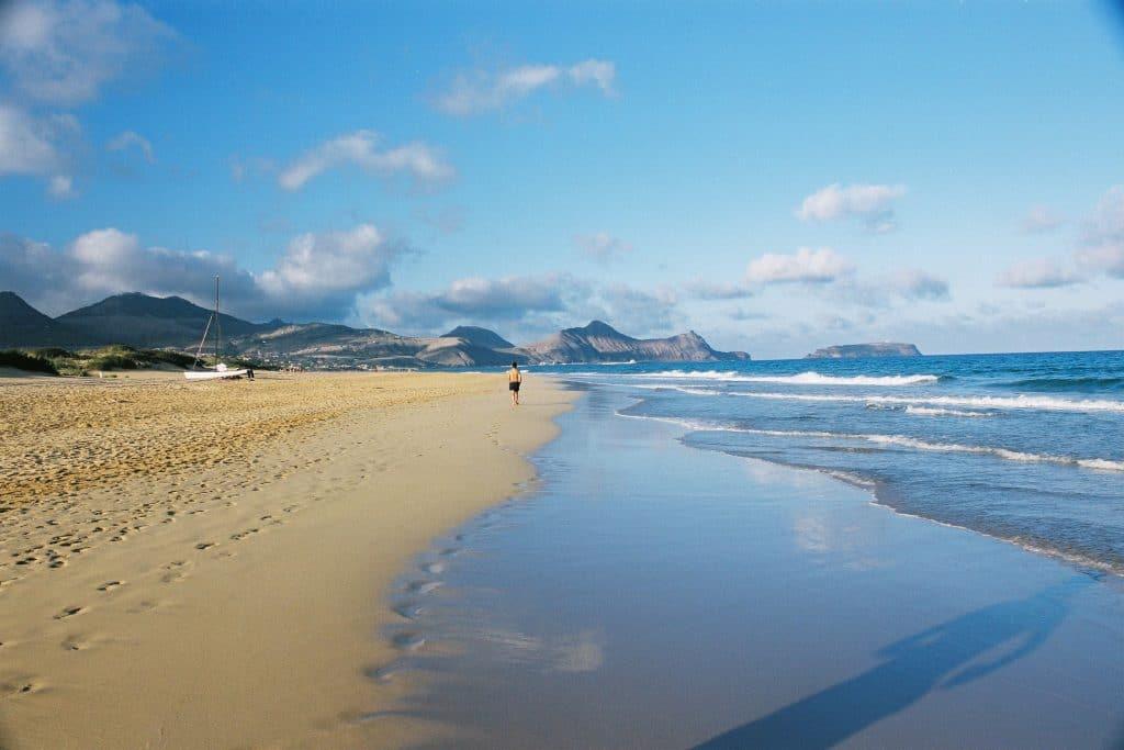 portugese stranden porto santo