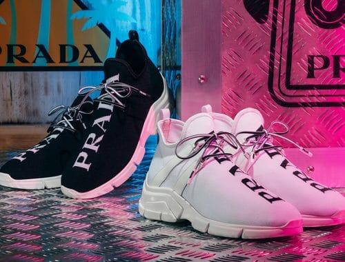Prada Knit Sneakers 2018