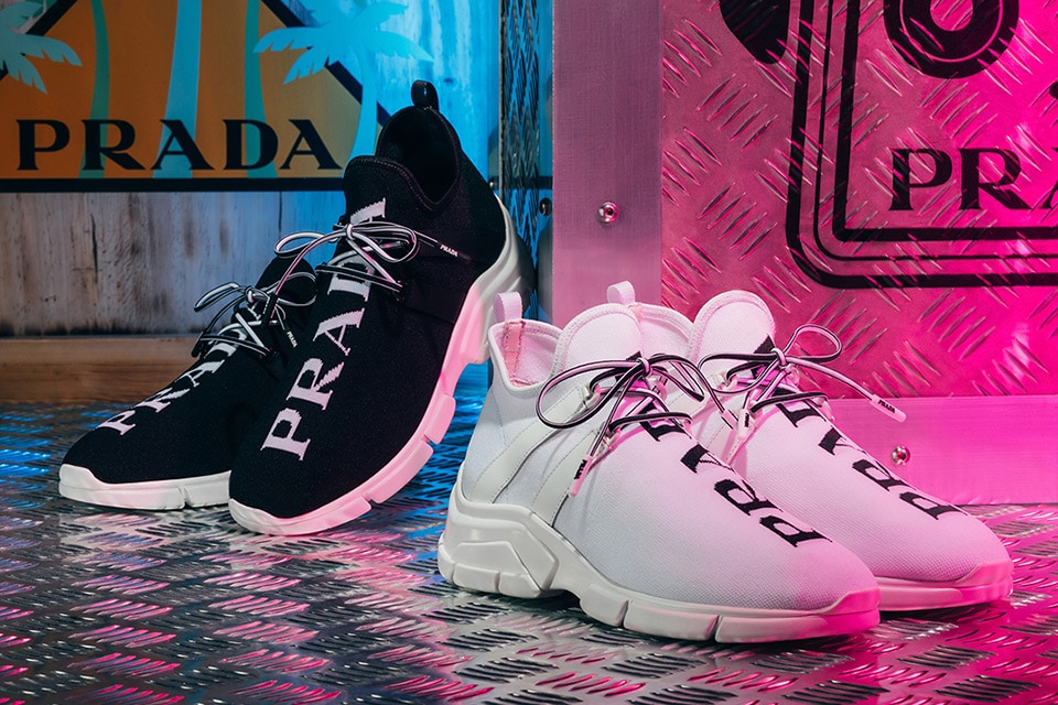 Prada Knit Sneakers 2018
