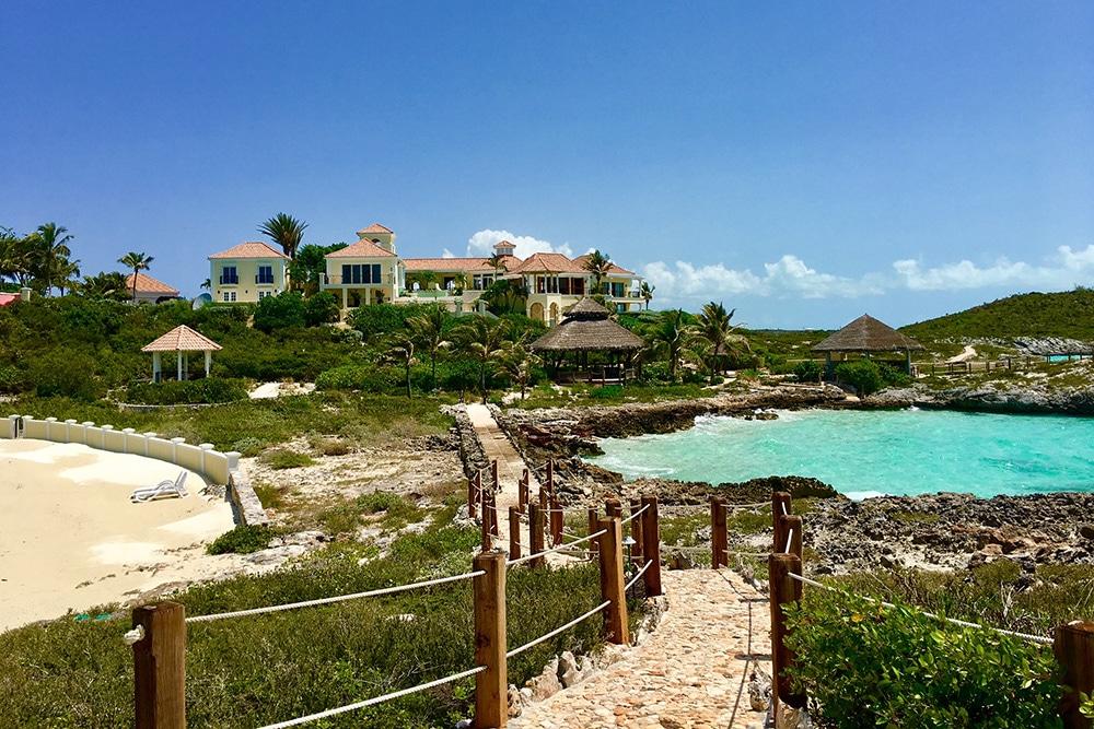 privé-eiland Prince te koop Turks -en Caicoseilanden