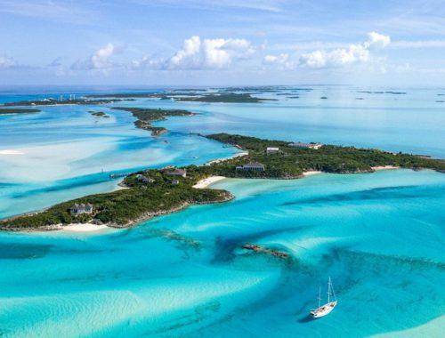 Privé-eiland Bahama's te koop - little pipe cay