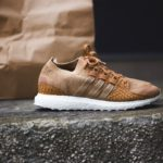 "Pusha T x adidas Originals EQT Support Ultra PK ""Fishscale"" Brown Paper Bag"