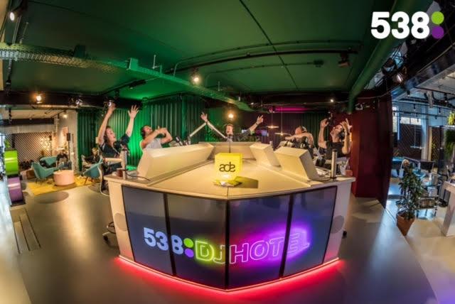 538DJ Hotel - The Student Hotel - ADE - Radio 538