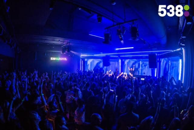 538DJ Hotel - David Guetta - The Student Hotel - ADE - Radio 538
