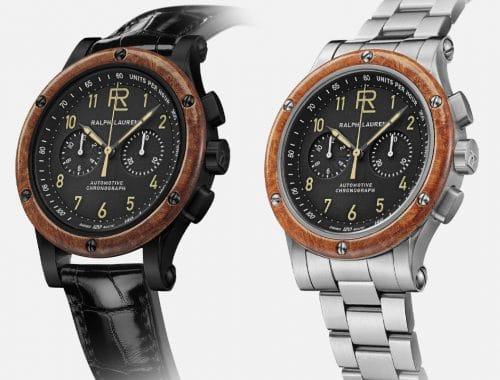Ralph Lauren Automotive Chronograph horloge
