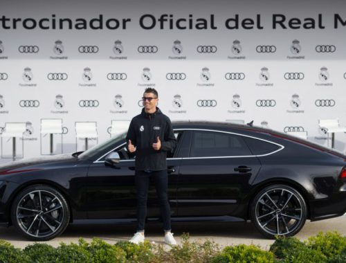 Reald Madrid spelers krijgen nieuwe Audi 2018