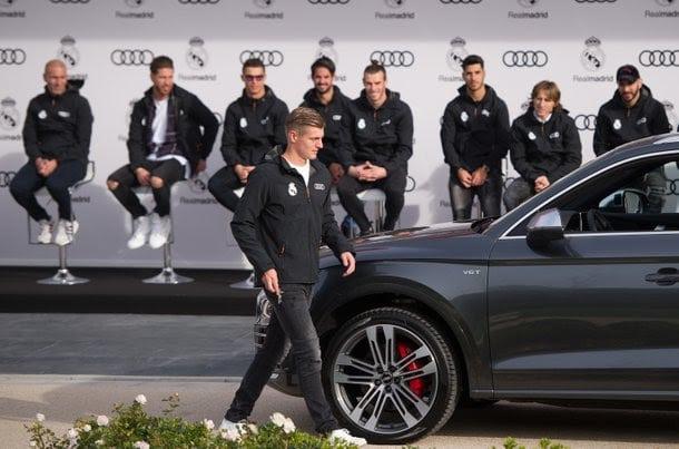 Real Madrid spelers krijgen nieuwe Audi 2018
