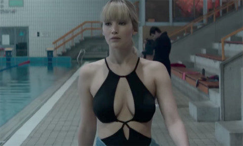 Red Sparrow trailer Jennifer Lawrence