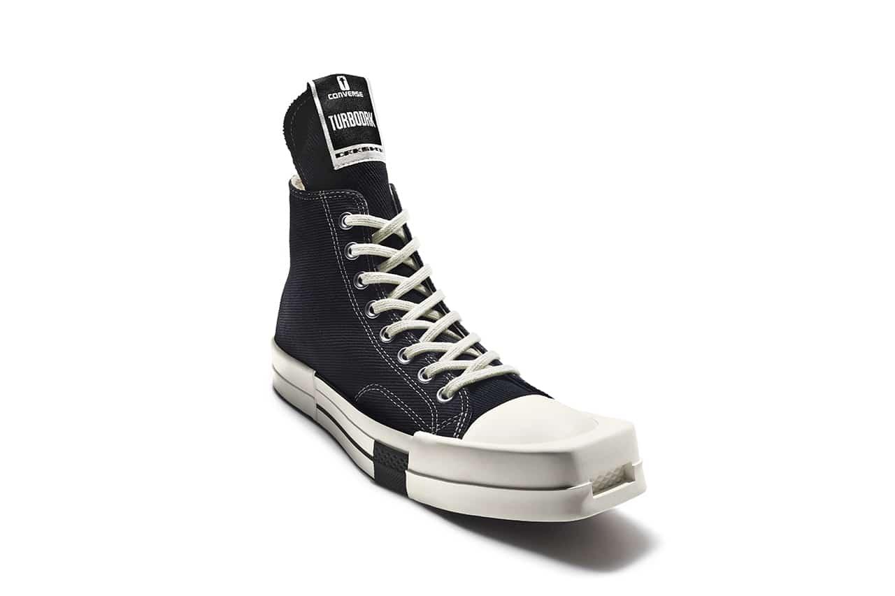 Rick Owens DRKSHDW x Converse TURBODRK Chuck 70 sneaker