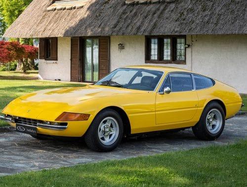 1973 Ferrari 365 GTB/4 Daytona Berlinetta veiling