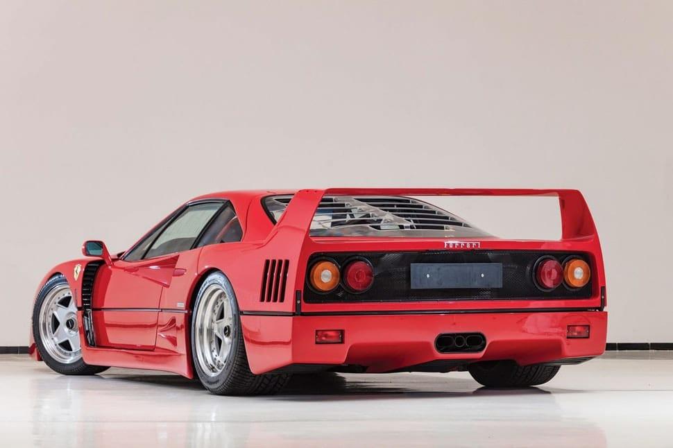 1992 Ferrari F40 veiling
