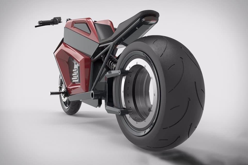 RMK E2 elektrische motor