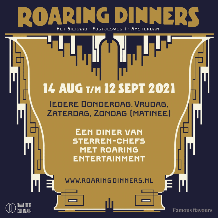 The Roaring Dinners amsterdam