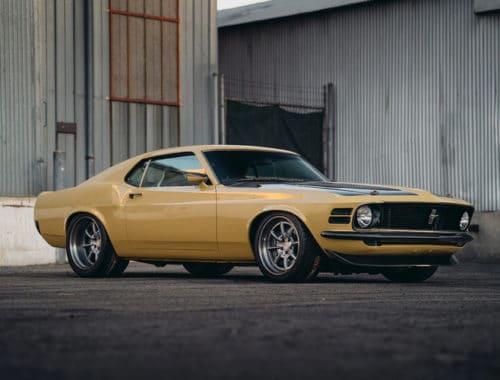 Custom 1970 Ford Mustang - Robert Downey Jr.