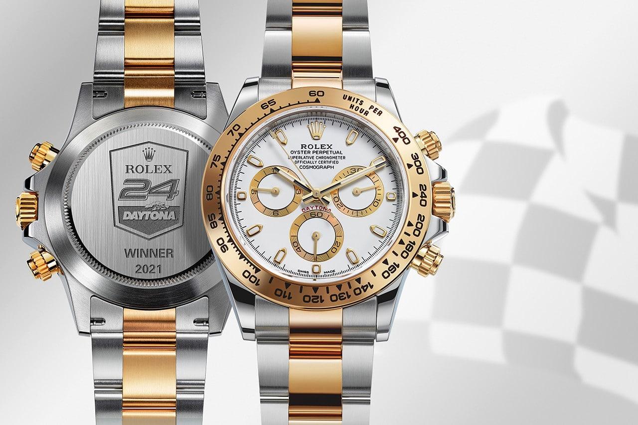 Rolex Cosmograph Daytona Rolesor Chronograph voor Daytona Endurance Race-winnaars