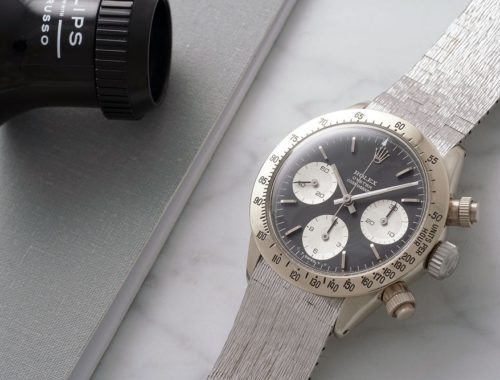 vintage Rolex Daytona White Gold