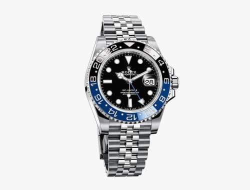Rolex GMT-Master II Batman met Jibulee-band