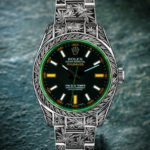 Rolex Oyster Perpetual Milgauss Cannabis