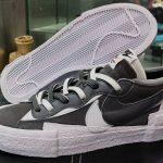 sacai x Nike Blazer Low Gray/White
