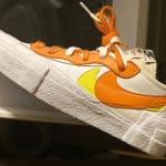 sacai x Nike Blazer Low White/Magma Orange