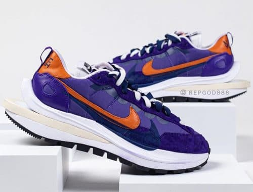 sacai x Nike Vaporwaffle Purple/Orange