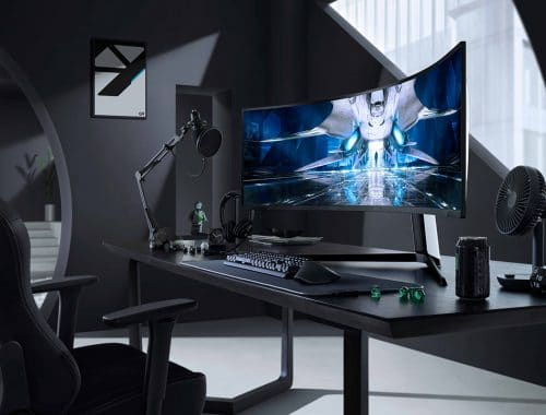 Samsung Odyssey Neo G9 Quantum Mini LED curved gaming monitor
