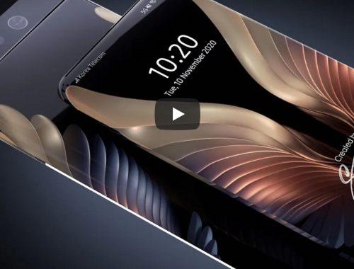 Samsung patenteert Surround Display smartphone met 100% beeldscherm