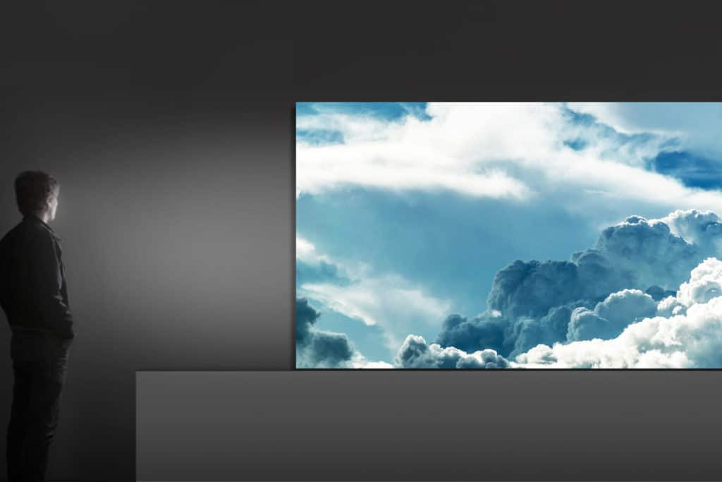 Samsung The Wall 146-inch MicroLED TV