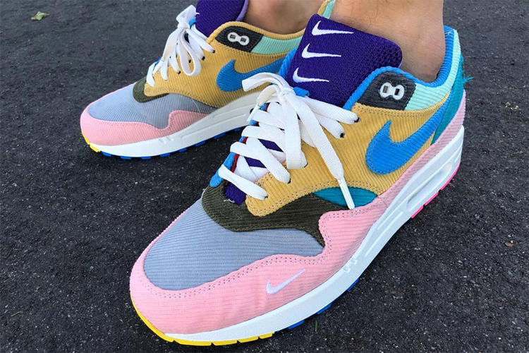 Sean Wotherspoon x Nike Air Max 1 bespoke sneaker | MANNENSTYLE