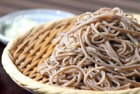 seesaw-noedels bamboo noodles