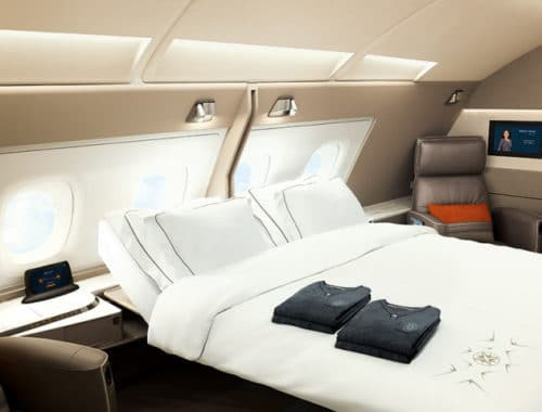 First Class-Suite van Singapore Airlines
