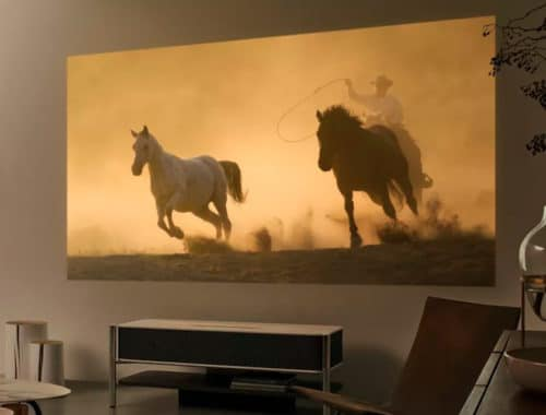 Sony LSPX-A1 4K projector ces 2018