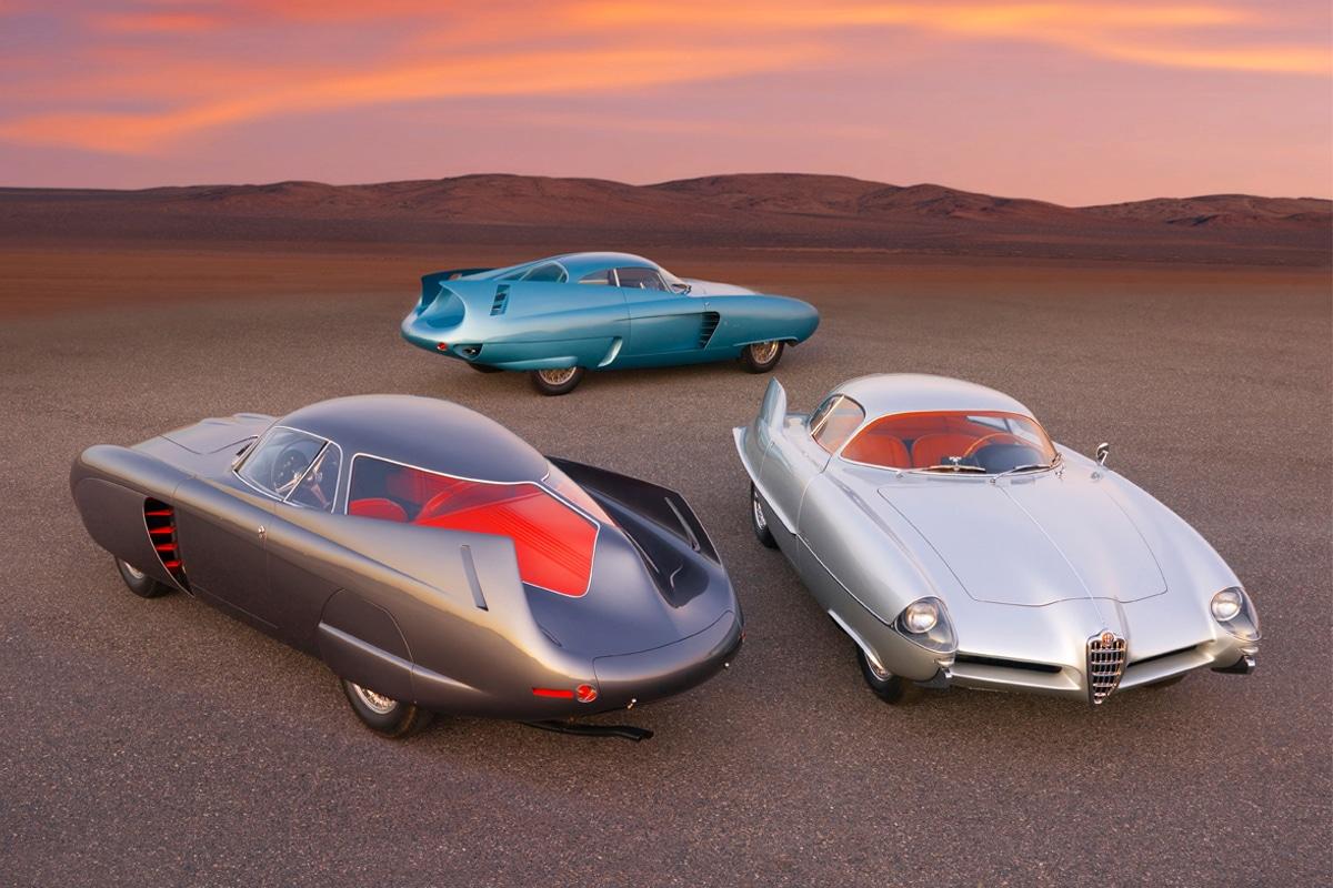 RM Sotheby's - drie Alfa Romeo B.A.T
