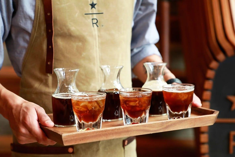 Starbucks cold-pressed espresso shots