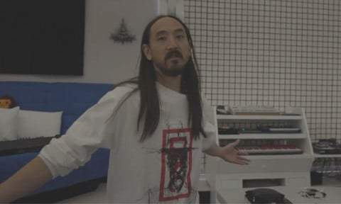 Steve Aoki Las Vegas villa tour video