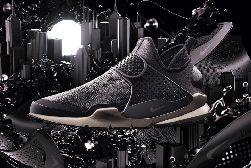 Nieuwe kleur voor de Stone Island x NikeLab Sock Dart