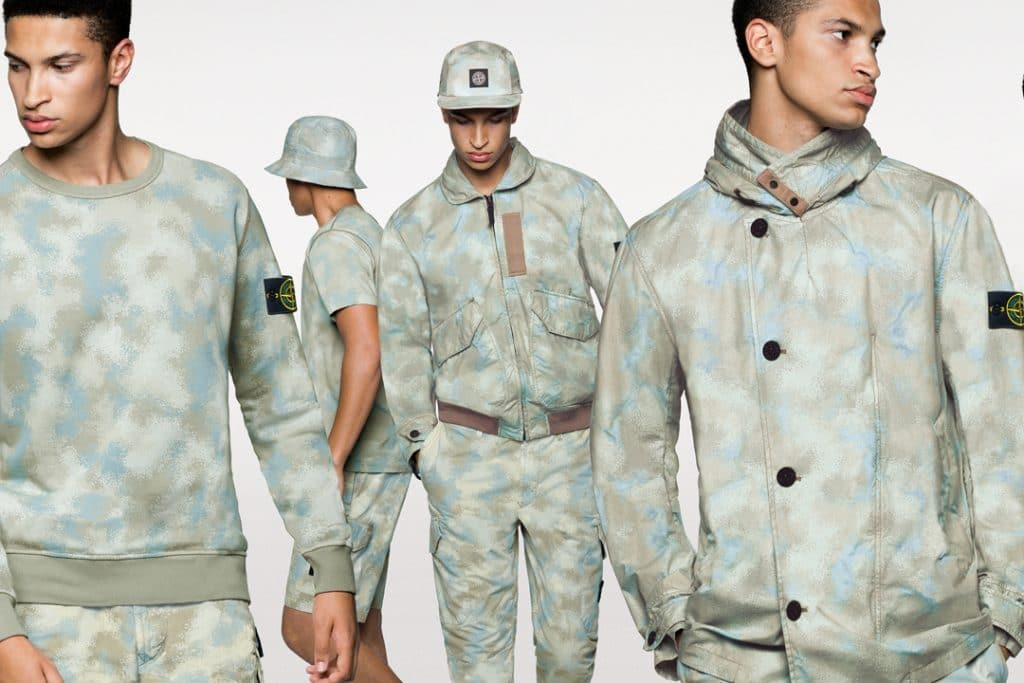 Stone Island Desert Camouflage Collection