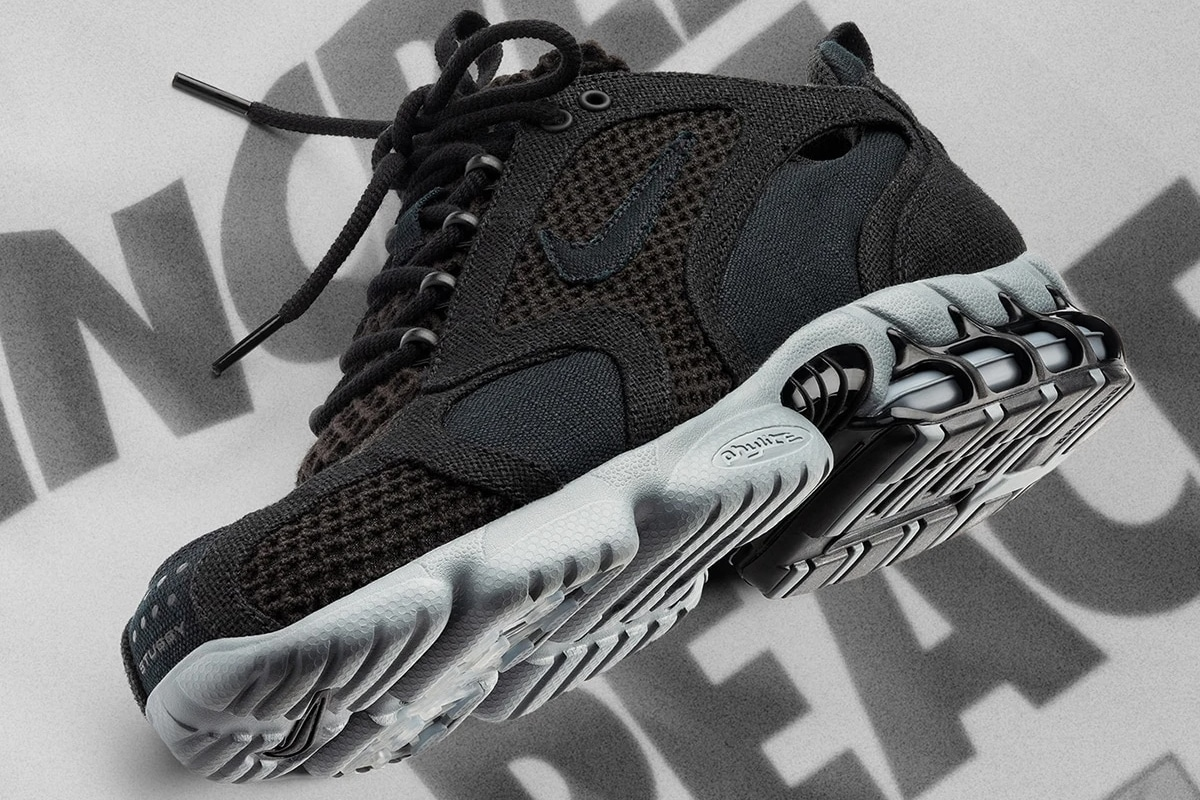 Stüssy x Nike Air Zoom Spiridon Cage 2 Black/Cool Grey